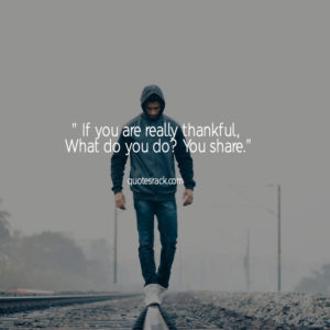be thankful for who you are quotes