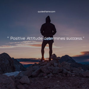 positive attitude quotes images