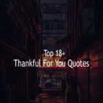 Top 17+ Thankful For You Quotes Sayings With Pictures