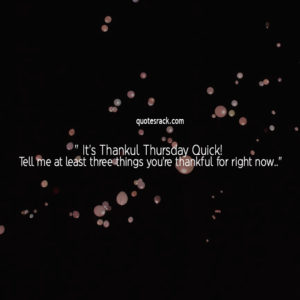 thankful thursday blessing quotes